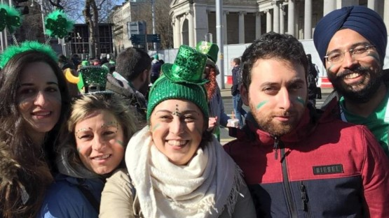 Witches' Hats and Green Attire — InterNations in March