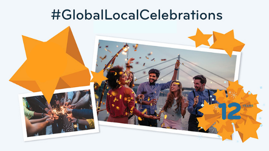 #GlobalLocalCelebrations of 12 Years of InterNations