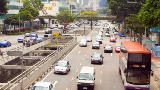 Traffic & Driving in Singapore