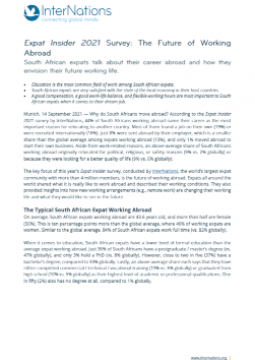 Press Release: South African Expats