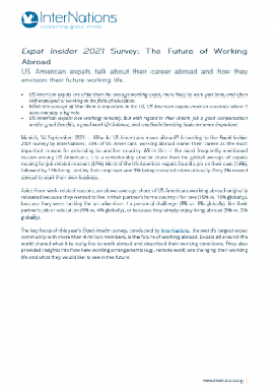Press Release: US American Expats