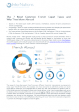 The 7 Most Common French Expat Types and  Why They Move Abroad