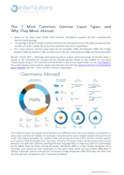 The 7 Most Common German Expat Types and  Why They Move Abroad