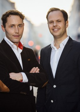 InterNations Founders & Co-CEOs Philipp von Plato (left) and Malte Zeeck (right)