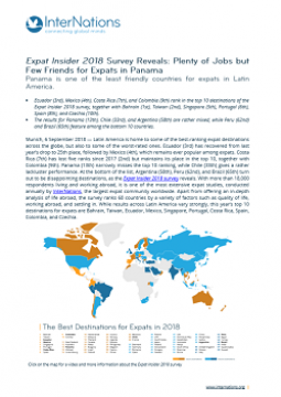 Panama: Plenty of Jobs but Few Friends for Expats in Panama