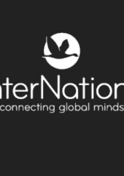 InterNations Logo Tagline White