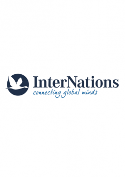 InterNations Slogan Logo White Background