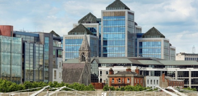 Dublin's downtown districts have attracted many a multinational corporation and expat.