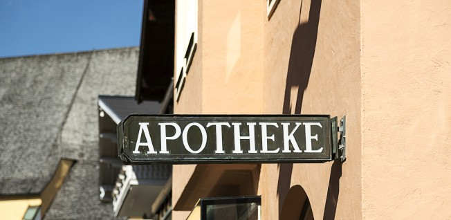 You will find many pharmacies, or Apotheken, throughout Berlin.