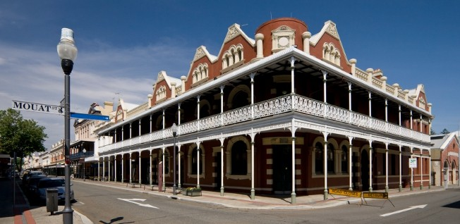 Fremantle, the historical port of Perth, features lots of heritage buildings from the town's colonial past.