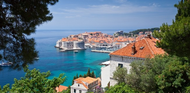 The Dalmatian town of Dubrovnik is among Croatia's most popular tourist destinations.
