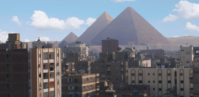 Working in Cairo in an office with a view!