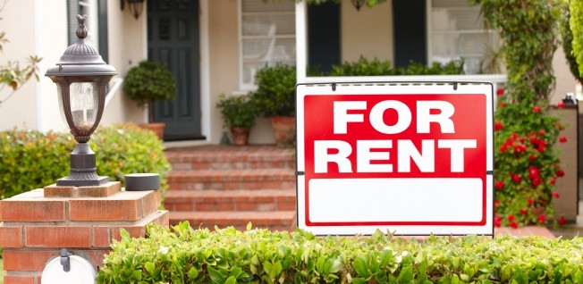Renting an apartment or a house is less common in the USA than buying property.