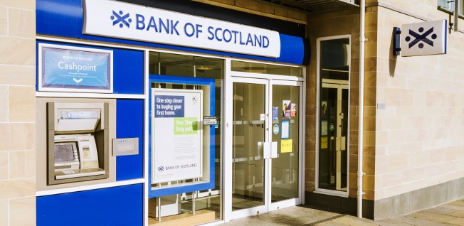 Financial institutions, such as the Bank of Scotland, are a key part of Edinburgh's economy.