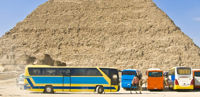 Most national travel from Cairo takes place by coach.