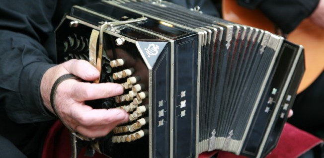 "The ""bandoneon"" is a musical symbol of tango and Buenos Aires."