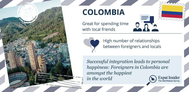 Colombia is a great destination for expats who want to immerse themselves in the local culture.
