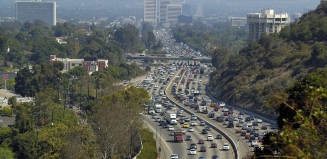 The roads in L.A. regularly rank as the most congested in the country.