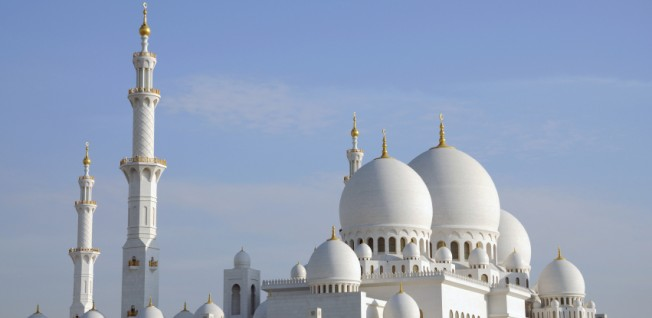 Sheikh Zayed Mosque is the biggest mosque in the UAE.