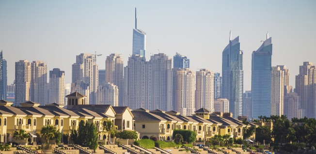 The UAE has many types of housing to offer expats, ranging from villas to flats.