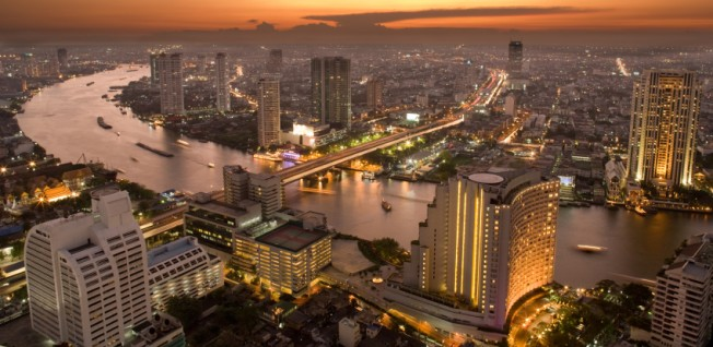 Bangkok is the motor of Thailand's economy.