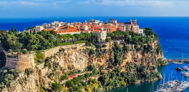 Monaco-Ville, also known as Le Rocher, is the oldest part of the city and houses the Prince's Palace.