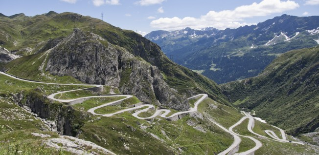 Driving through this alpine country, you will come across the most stunning views.