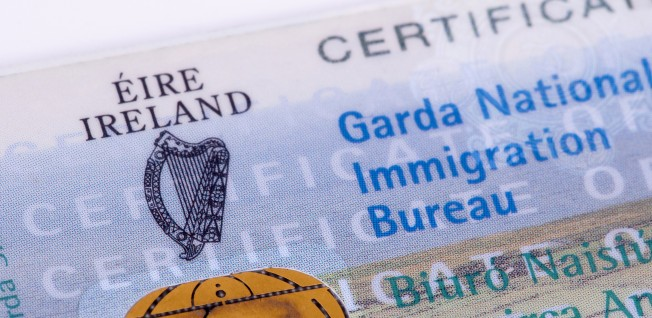 Irish visa and residency stamps can take a while to acquire.