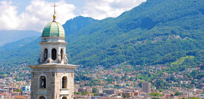The historic center of Lugano is full of modern benefits.