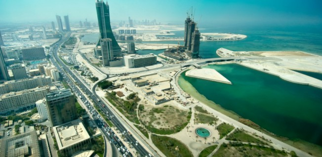 New business locations are constantly being constructed in Bahrain.