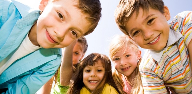 Most kids in the UK attend primary school from age five to eleven.
