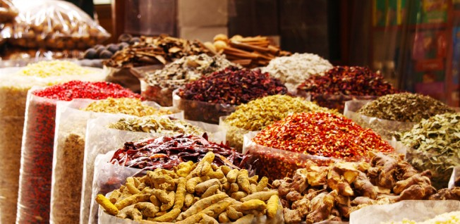 Soukhs are traditional markets which were once the center of life in the UAE.