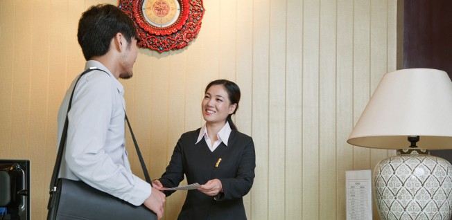If you are staying at a hotel, their staff will take care of your initial residence registration, but not your permit!