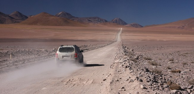 If you explore Chile by car, remember that not all roads are easily accessible.