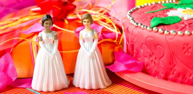 A civil partnership for lesbian or gay couples includes very similar rights and responsibilities as marriage in the UK.