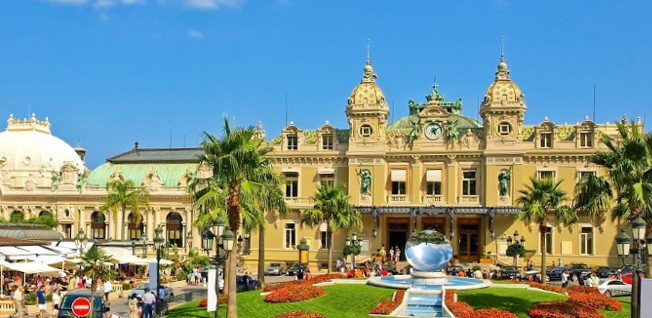 Monaco is world-renowned as a luxury resort; not least of all thanks to its famous Casino de Monte-Carlo.