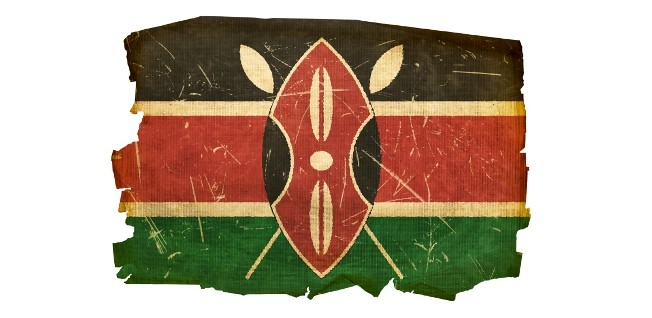 The colors of Kenya's flag symbolize: the African population (black), the blood shed for independence (red), the land (green), and a peaceful future (white).