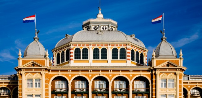 Couldn't get an apartment? Stay at the historic Kurhaus Hotel in Scheveningen.