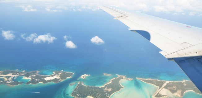 For Bahamians it is common to go by plane for inter-island travels.