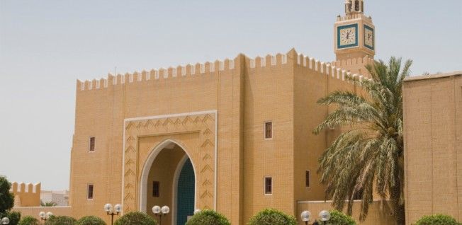 Seif Palace is the seat of the Emir in Kuwait.