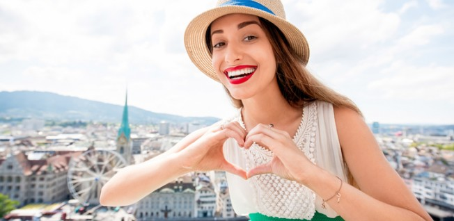 I heart Zurich! — In Switzerland's largest and most international city, every third resident is actually an expat.