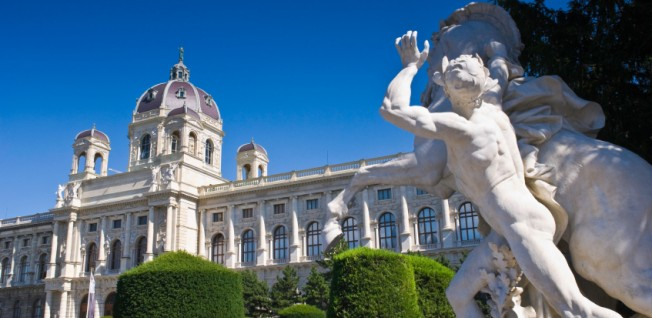 Vienna boasts marvelous architecture, especially in the city center.