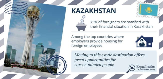 Bayterek Tower, designed by star architect Norman Foster, has become the best-known landmark in Astana.