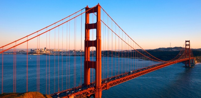 The iconic Golden Gate Bridge will be a familiar sight to any expat.