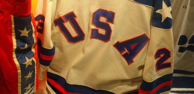 "The ""Miracle on Ice"" hockey match was an important moment in US sports history."