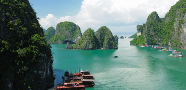 Due to its peculiar geographic position, Vietnam's climate differs vastly throughout the country.