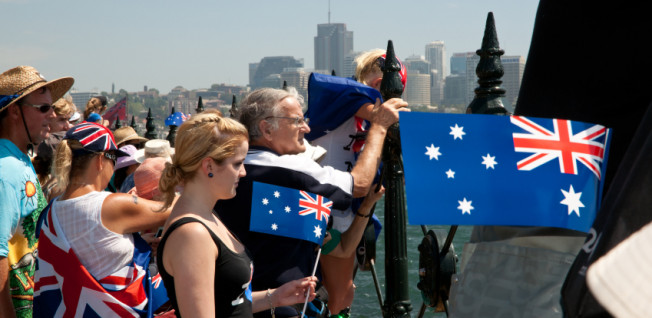 Sydney offers many leisure activities, not only on Australia Day.