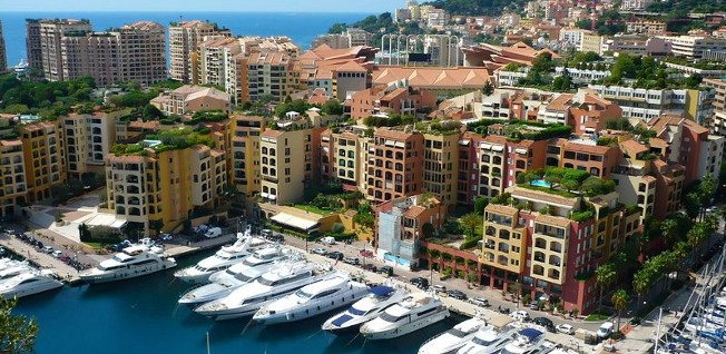 Monaco continues to be the most expensive country in regards to real estate prices.