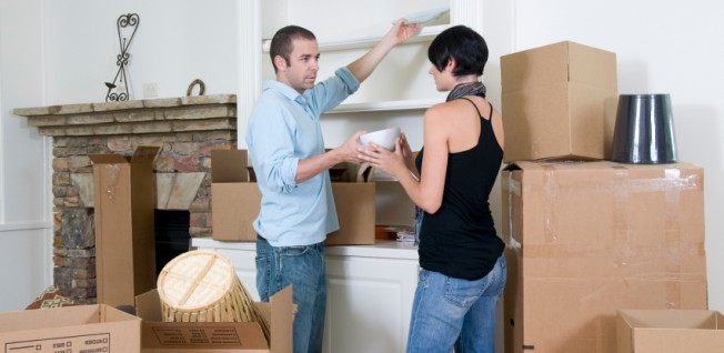 Unpacking boxes: Make yourself a new home away from home!