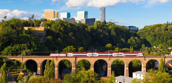Luxembourg has an extensive road, rail, and bus network, as well as an international airport.
